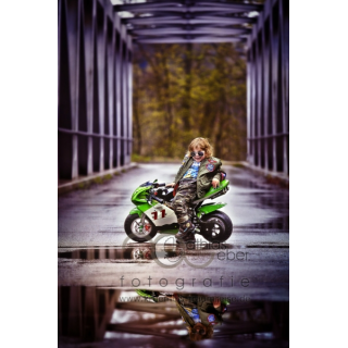 Babyfotografie Kinderfotografie Saar Pfalz Motorrad Pocketbike Superbike Top Gun Navy Air Force Outd