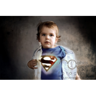 Babyfotografie Kinderfotografie Saar Pfalz Superman Held Comic Kraft